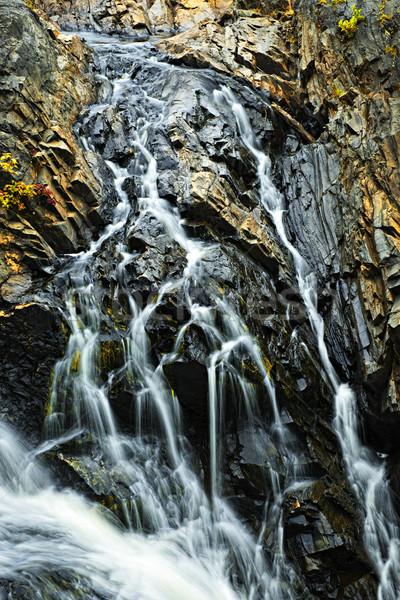 водопада Онтарио Канада пород весны Сток-фото © elenaphoto