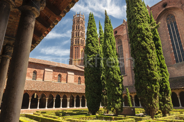 Jacobin Convent in Toulouse Stock photo © elenaphoto