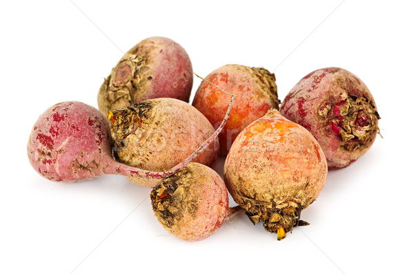Red and golden beets Stock photo © elenaphoto