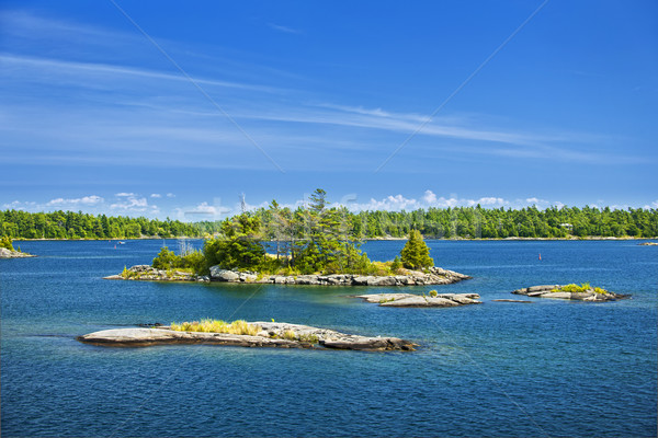 Islands in Georgian Bay Stock photo © elenaphoto