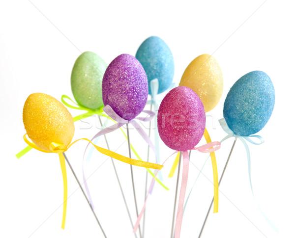 Easter egg toys Stock photo © elenaphoto