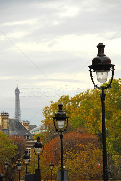 Paris street Stock photo © elenaphoto