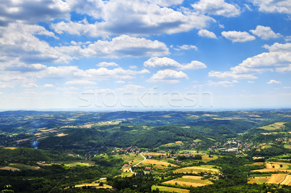 Serbian countryside Stock photo © elenaphoto