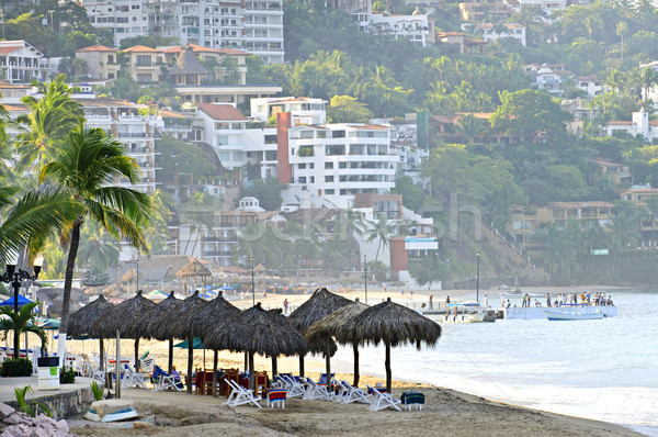 Puerto Vallarta beach, Mexico Stock photo © elenaphoto