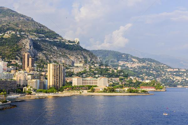 Stock photo: Larvotto beach in Monaco