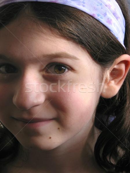 Young girl portrait Stock photo © elenaphoto