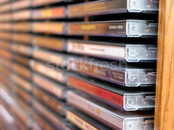 音楽 cd スタック のCD  浅い ストックフォト © elenaphoto