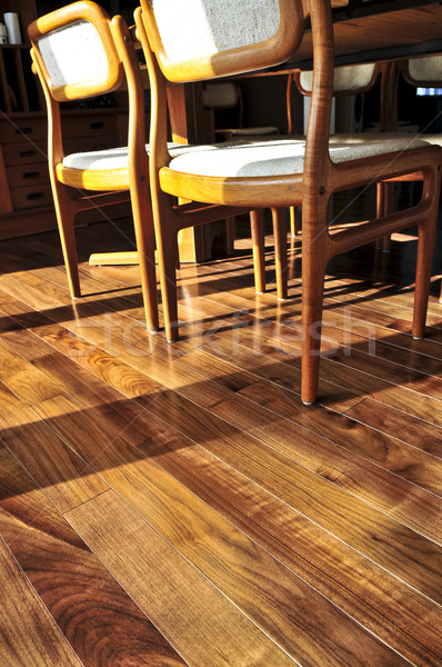 Hardwood floor Stock photo © elenaphoto