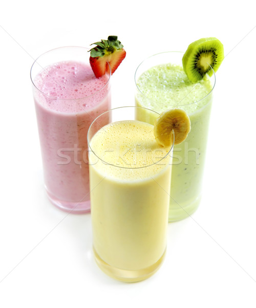 Fruit smoothies Stock photo © elenaphoto