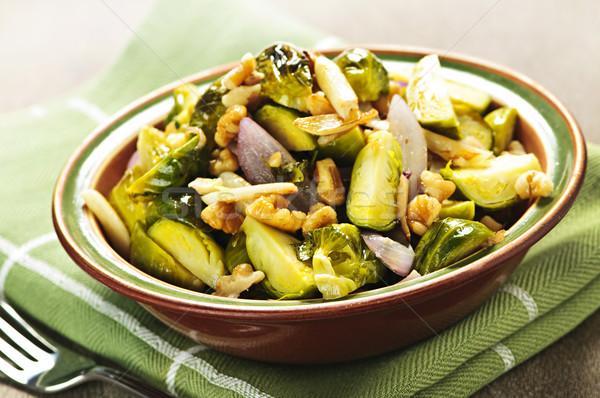 Brussel schotel vegetarisch kom groenten Stockfoto © elenaphoto