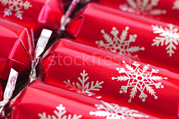 Christmas crackers Stock photo © elenaphoto