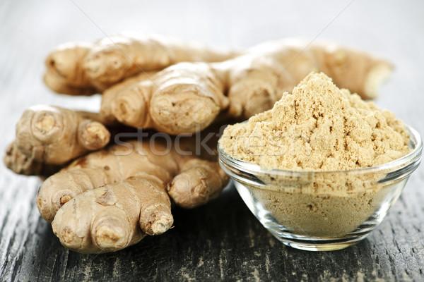 Ginger root Stock photo © elenaphoto
