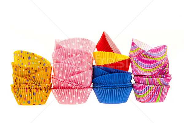 Muffin baking cups Stock photo © elenaphoto