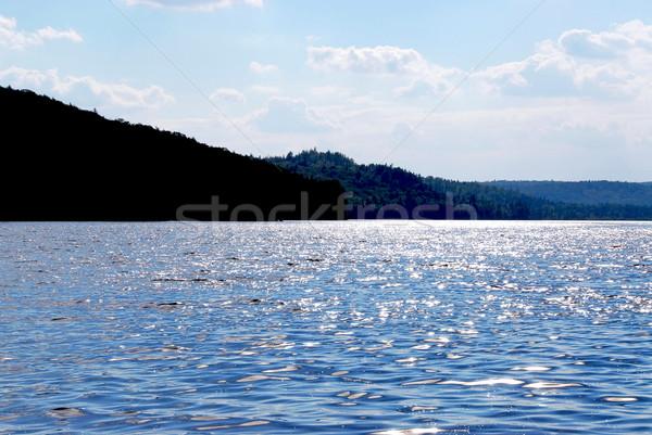 Sparkling lake Stock photo © elenaphoto
