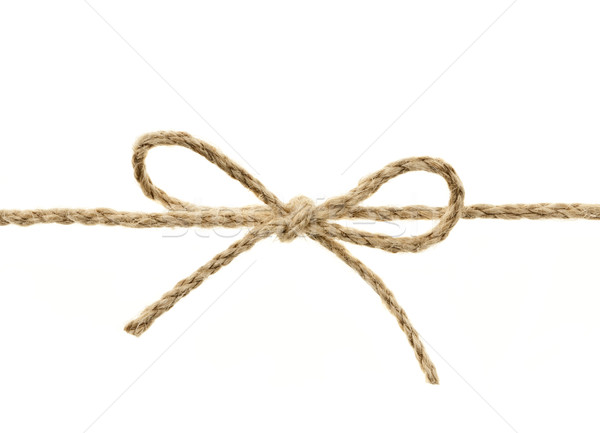 String tied in a bow Stock photo © elenaphoto