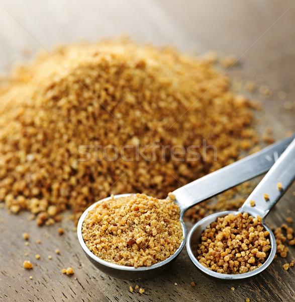 Cocotier sucre organique métal Photo stock © elenaphoto