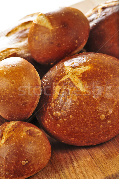 Loaves of bread Stock photo © elenaphoto