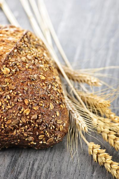 Loaf of multigrain bread Stock photo © elenaphoto