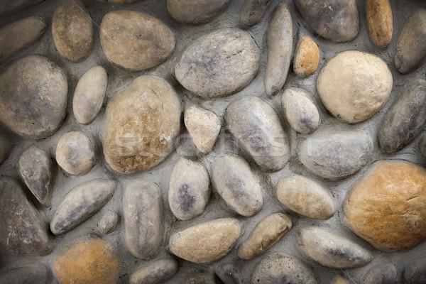 Stone wall background Stock photo © elenaphoto