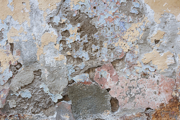 Old plastered wall abstract Stock photo © elenaphoto