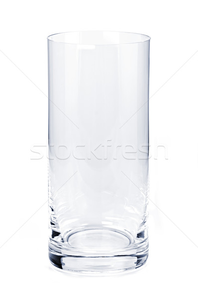 Empty tumbler glass Stock photo © elenaphoto