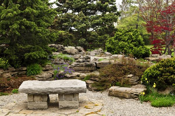 Zen garden Stock photo © elenaphoto