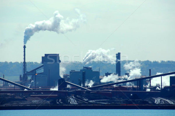 Industrial pollution Stock photo © elenaphoto