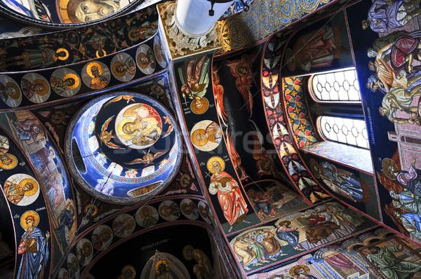 Church interior Stock photo © elenaphoto