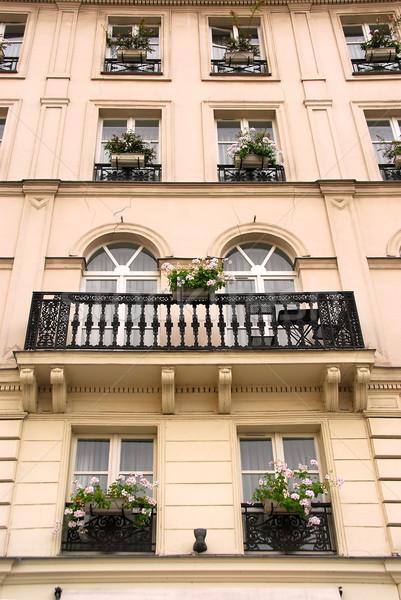 Paris windows Stock photo © elenaphoto