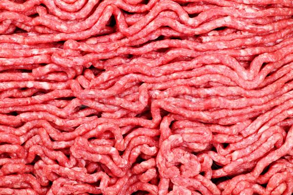 Raw ground meat Stock photo © elenaphoto