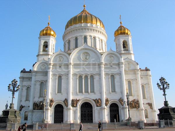 собора Москва Христа спаситель Россия путешествия Сток-фото © elenaphoto