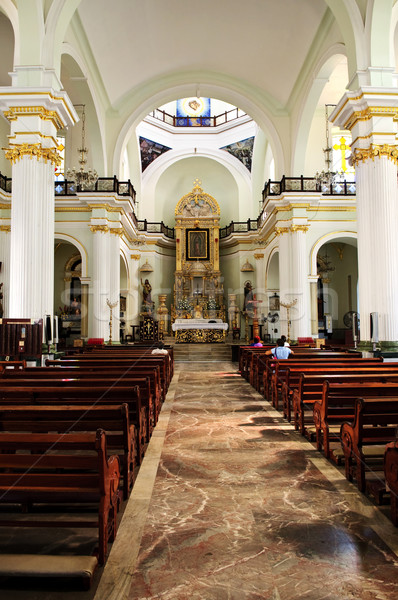 Church interior in Puerto Vallarta, Jalisco, Mexico Stock photo © elenaphoto