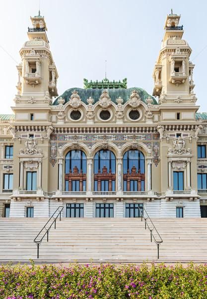 казино Монако морем фасад здании Сток-фото © elenaphoto
