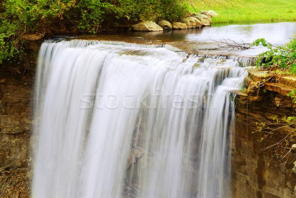 滝 美しい 夏 時間 自然 ストックフォト © elenaphoto