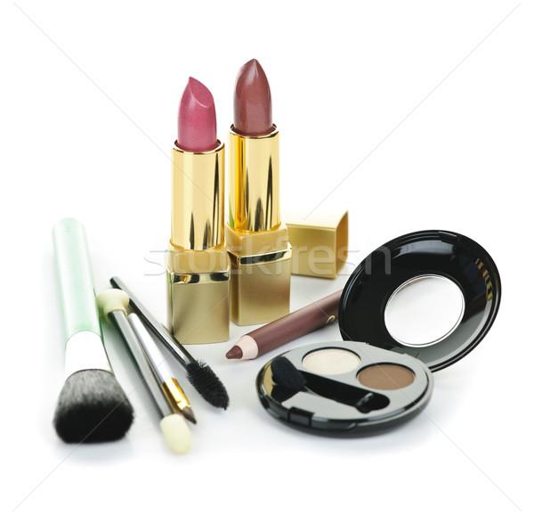 Makeup and cosmetics Stock photo © elenaphoto