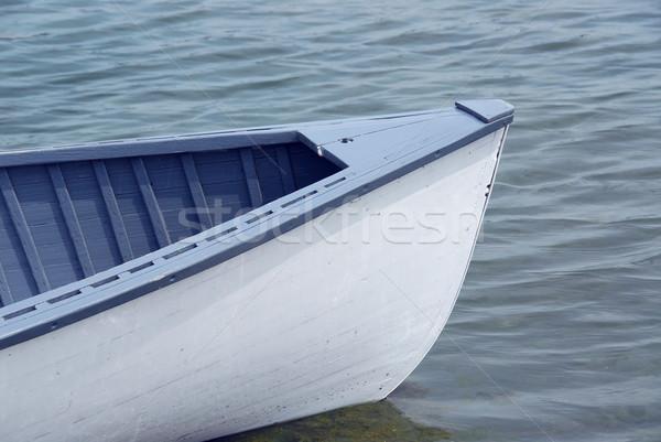 лодка носа синий лет Сток-фото © elenaphoto