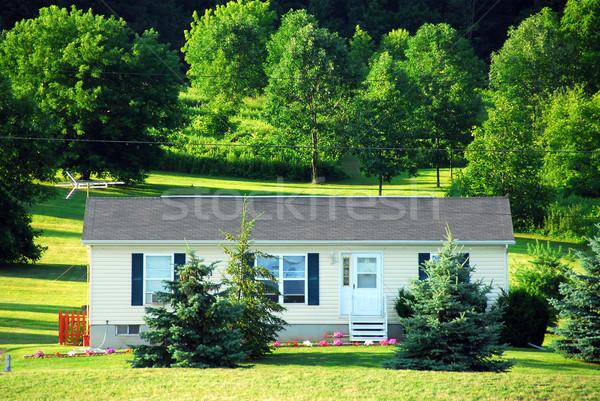 Small country house Stock photo © elenaphoto