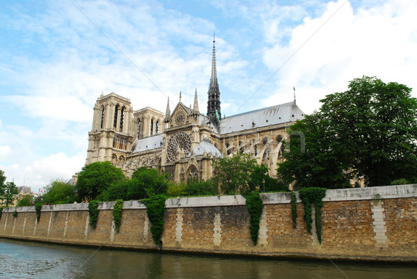 Notre Dame cathedral Stock photo © elenaphoto