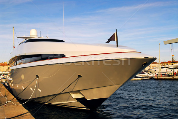 Luxury yacht Stock photo © elenaphoto
