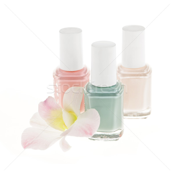 Nail polish bottles Stock photo © elenaphoto