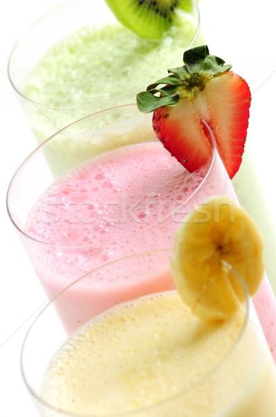 Foto stock: Fruto · branco · vidro · saúde · óculos