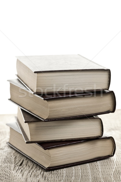 Stack of books Stock photo © elenaphoto