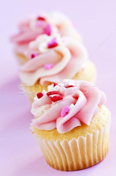 Cupcakes Stock photo © elenaphoto