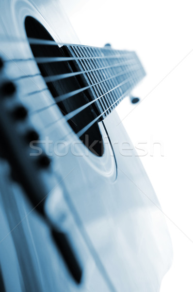 Guitar close up Stock photo © elenaphoto