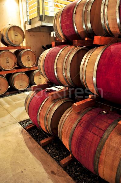 ワイン オーク ワイナリー ドリンク ストックフォト © elenaphoto