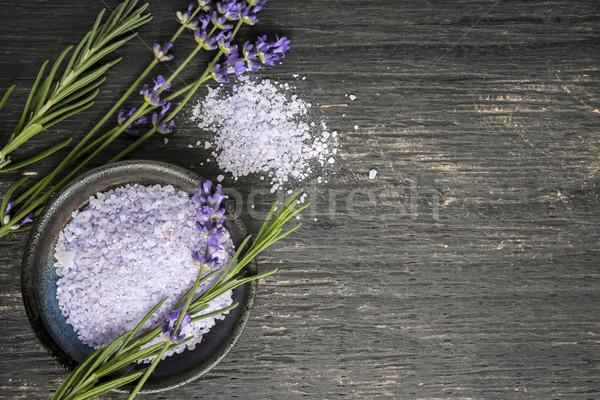 Test törődés fürdőkád szárított növénygyűjtemény termék friss Stock fotó © elenaphoto