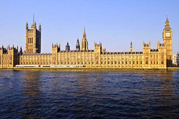 Photo stock: Palais · westminster · Big · Ben · maisons · parlement · thames