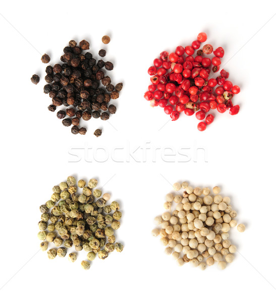 Assorted peppercorns Stock photo © elenaphoto