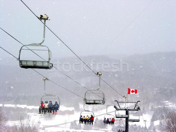 Ski Canada Stock photo © elenaphoto