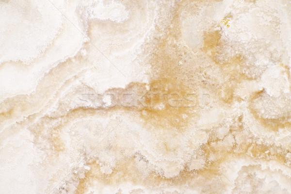 Marmer gepolijst oppervlak detail abstract Stockfoto © elenaphoto